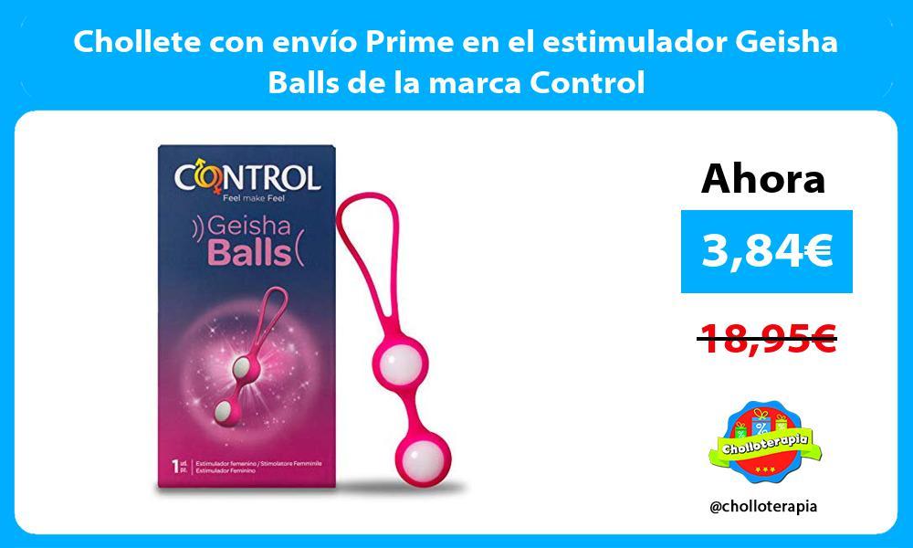 Chollete con envío Prime en el estimulador Geisha Balls de la marca Control