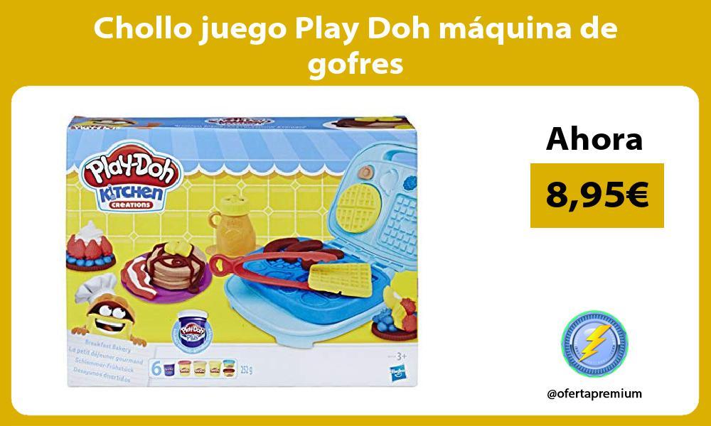 Chollo juego Play Doh máquina de gofres