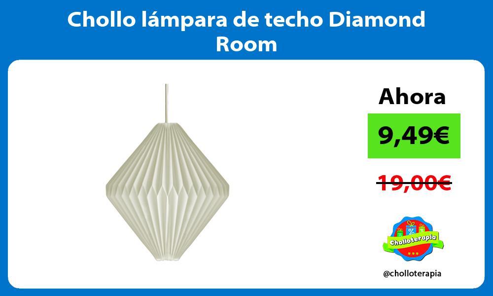 Chollo lámpara de techo Diamond Room