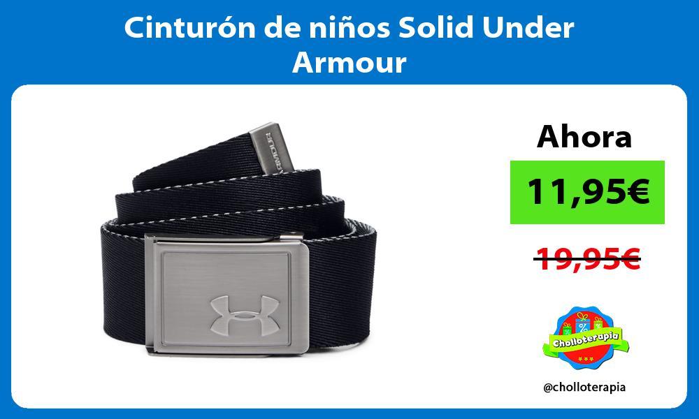 Cinturón de niños Solid Under Armour