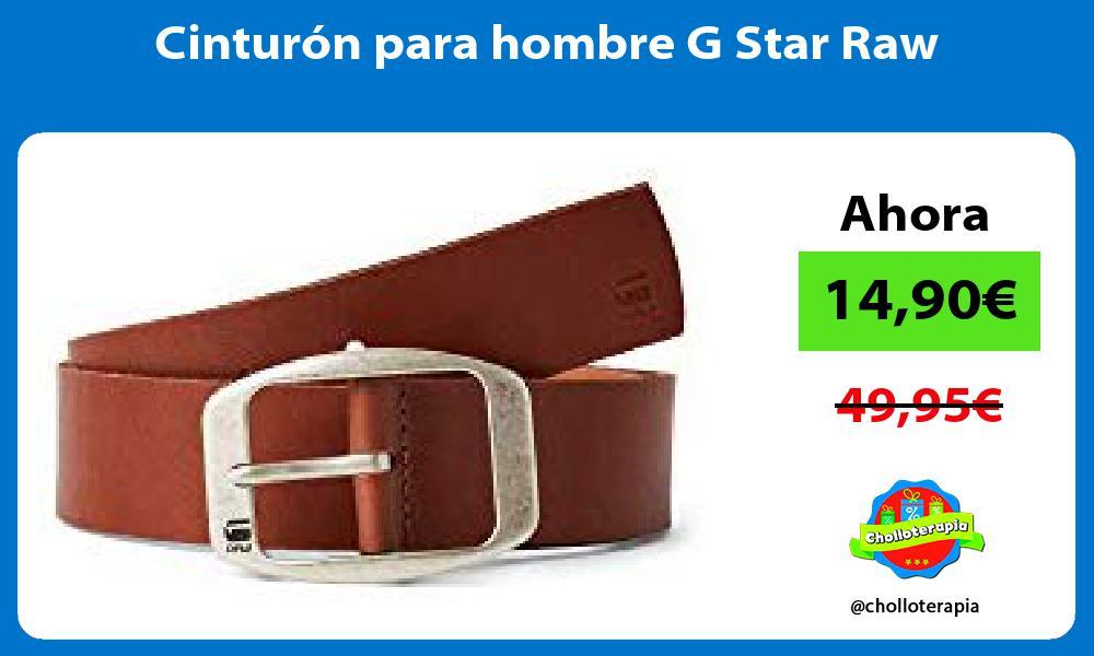 Cinturón para hombre G Star Raw