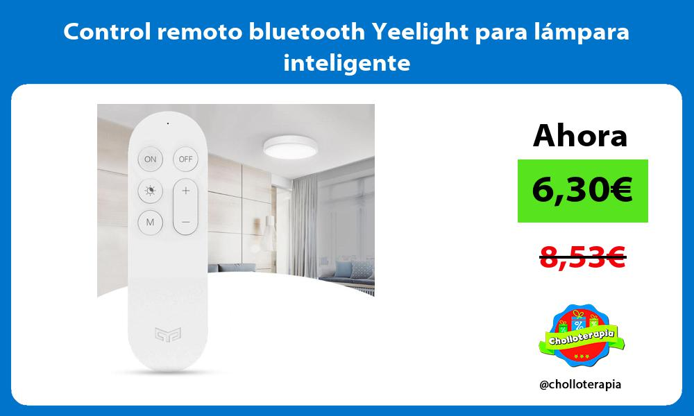 Control remoto bluetooth Yeelight para lámpara inteligente
