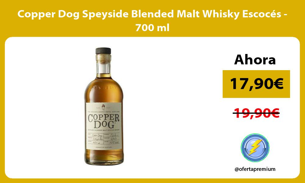 Copper Dog Speyside Blended Malt Whisky Escocés 700 ml