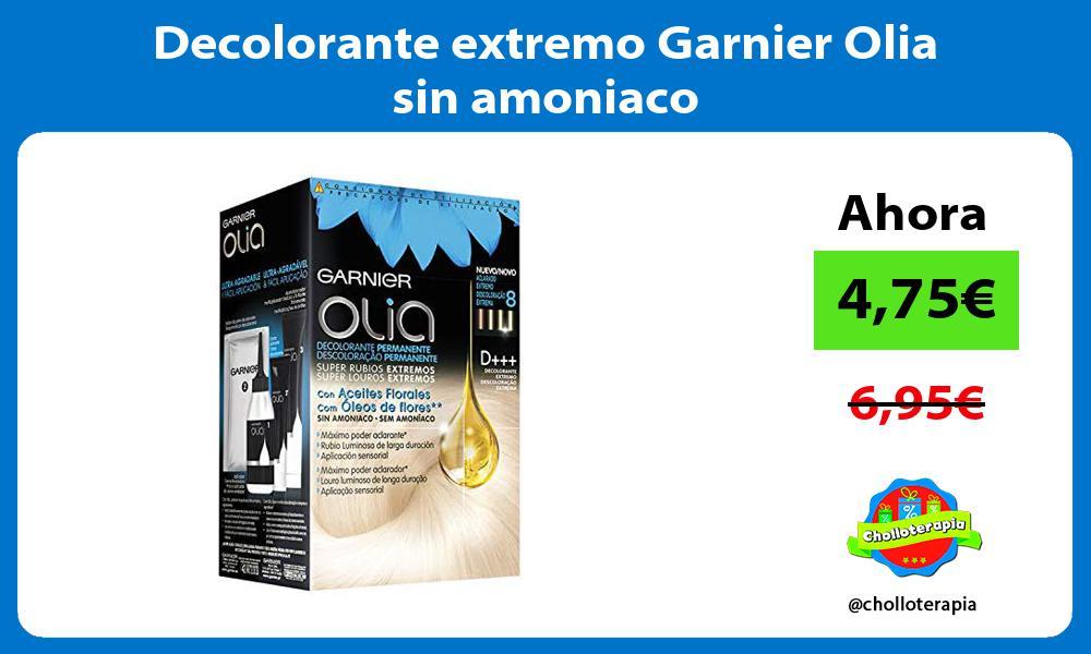 Decolorante extremo Garnier Olia sin amoniaco