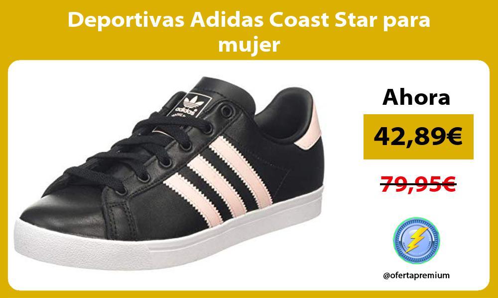 Deportivas Adidas Coast Star para mujer