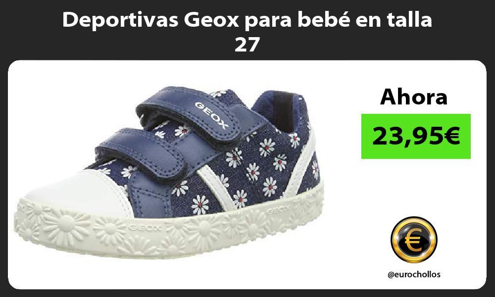 Deportivas Geox para bebé en talla 27