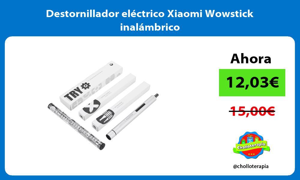 Destornillador eléctrico Xiaomi Wowstick inalámbrico