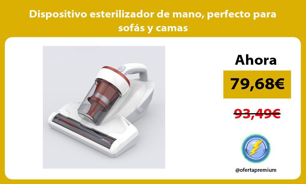 Dispositivo esterilizador de mano perfecto para sofás y camas