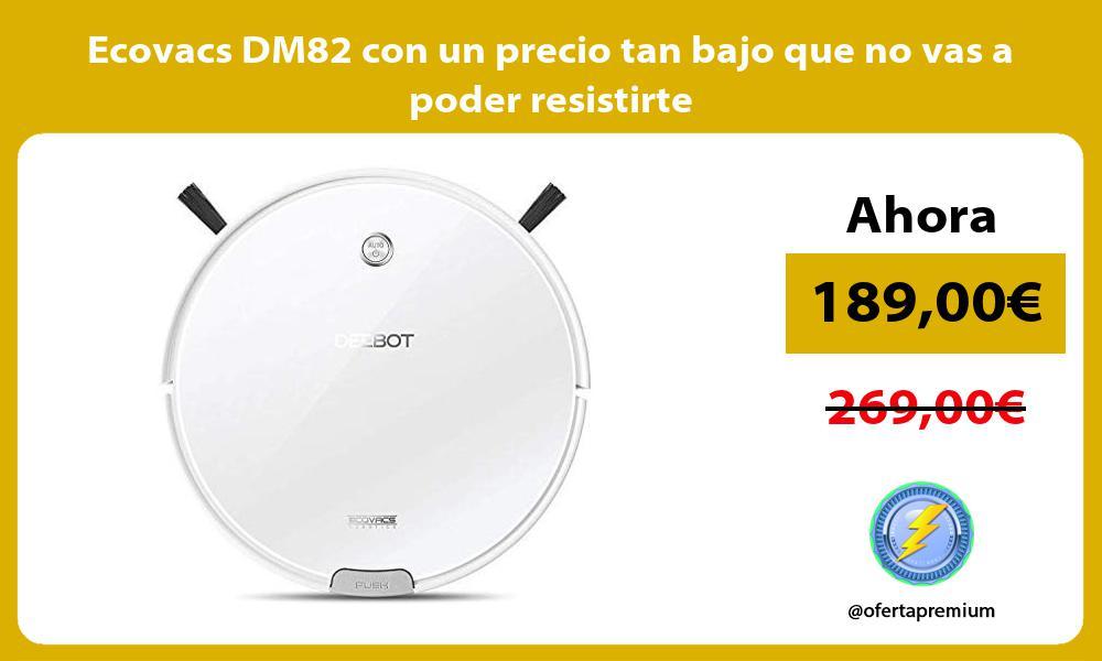 Ecovacs DM82 con un precio tan bajo que no vas a poder resistirte