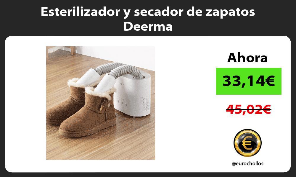 Esterilizador y secador de zapatos Deerma