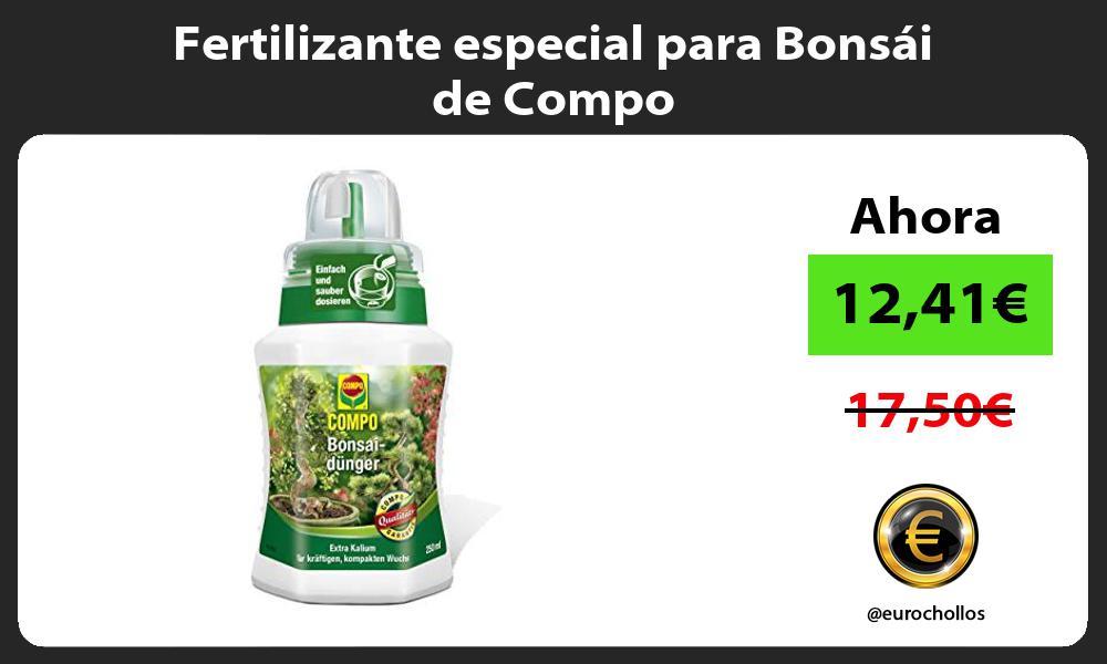 Fertilizante especial para Bonsái de Compo