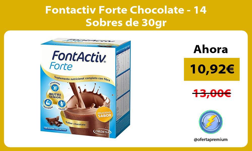 Fontactiv Forte Chocolate 14 Sobres de 30gr