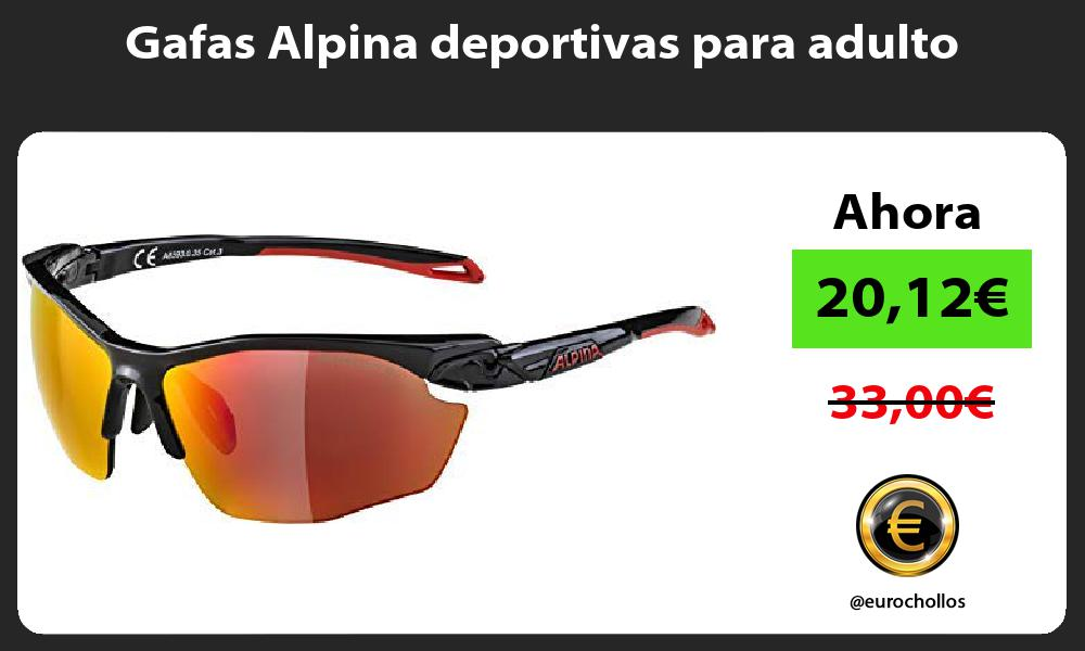 Gafas Alpina deportivas para adulto
