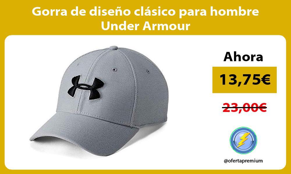 Gorra de diseño clásico para hombre Under Armour