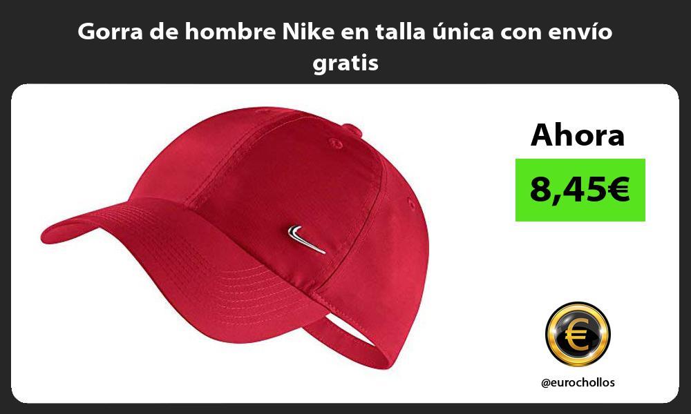 Gorra de hombre Nike en talla única con envío gratis