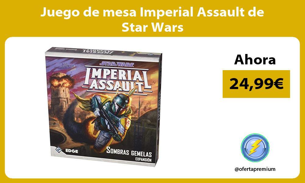 Juego de mesa Imperial Assault de Star Wars