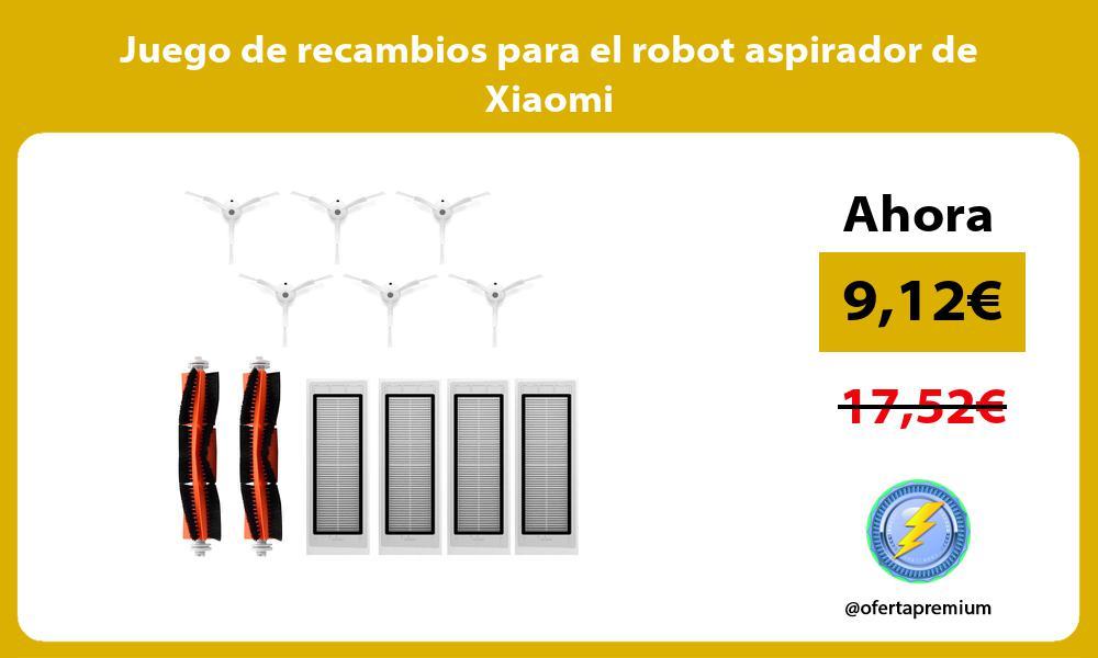 Juego de recambios para el robot aspirador de Xiaomi