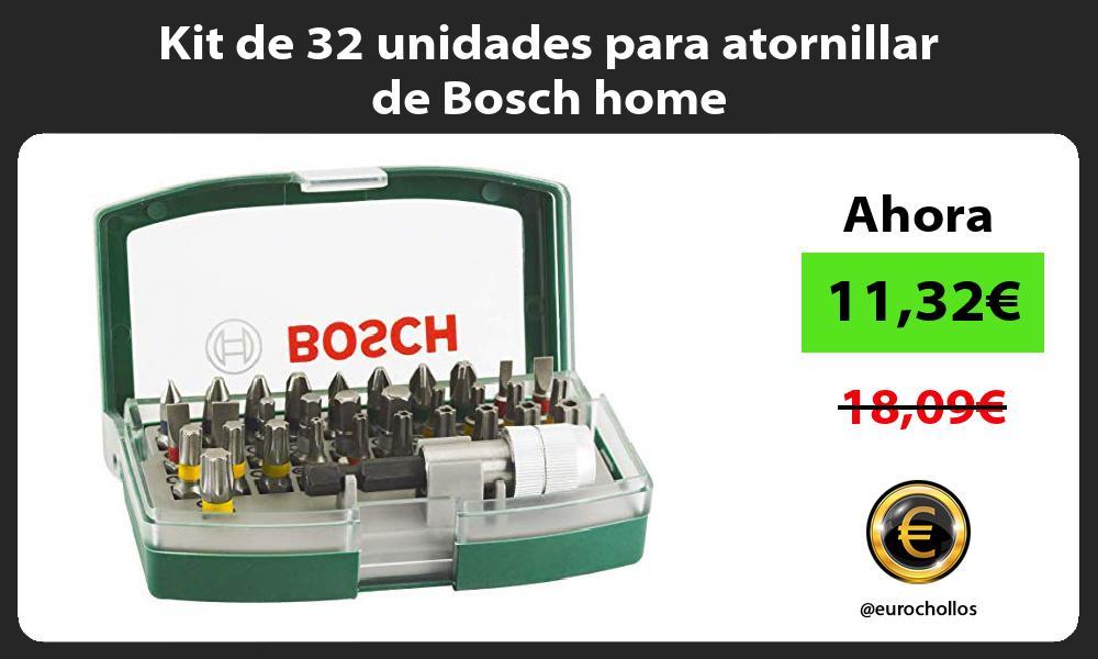 Kit de 32 unidades para atornillar de Bosch home