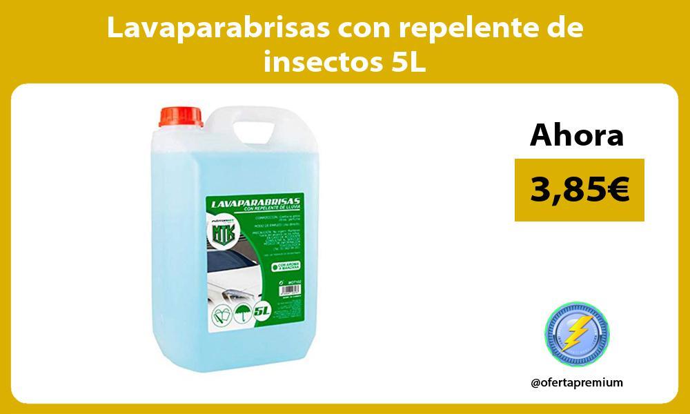 Lavaparabrisas con repelente de insectos 5L