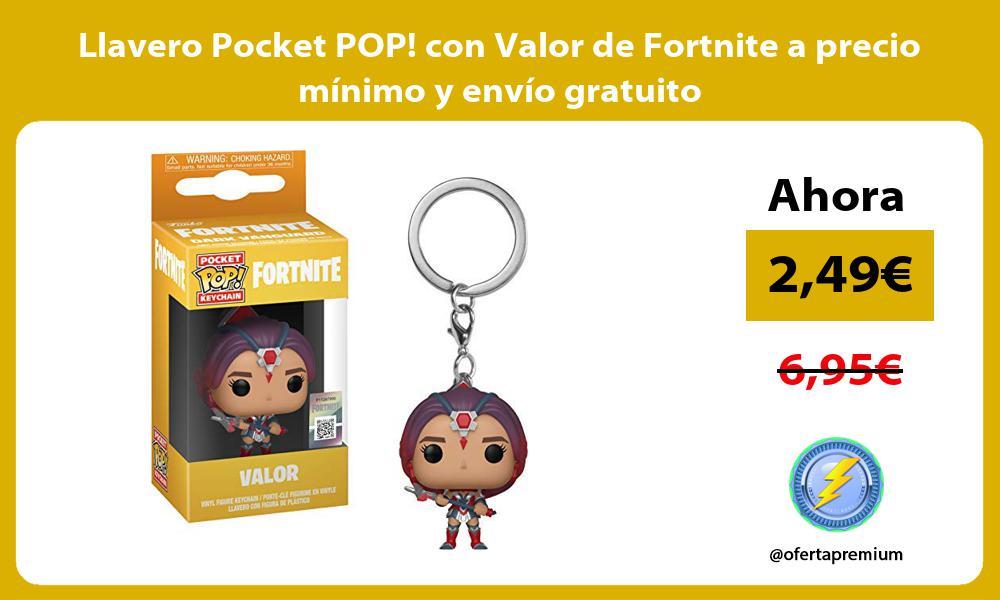 Llavero Pocket POP con Valor de Fortnite a precio mínimo y envío gratuito
