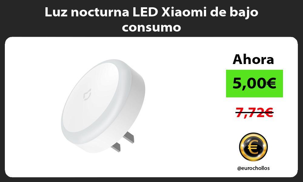 Luz nocturna LED Xiaomi de bajo consumo