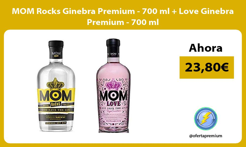 MOM Rocks Ginebra Premium 700 ml Love Ginebra Premium 700 ml