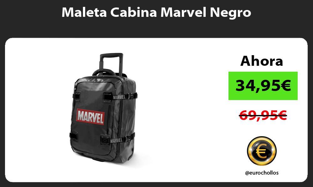 Maleta Cabina Marvel Negro