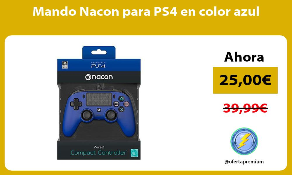 Mando Nacon para PS4 en color azul