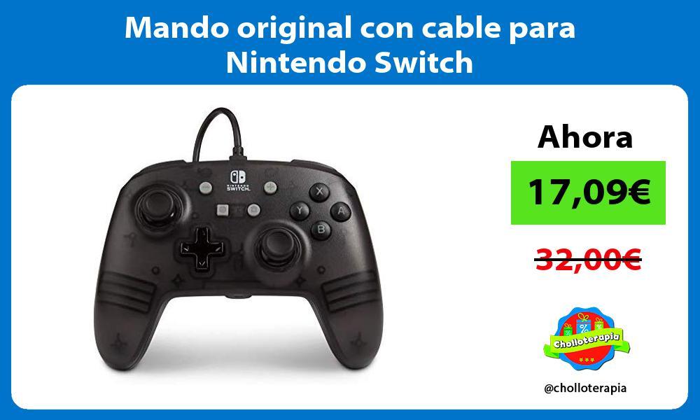 Mando original con cable para Nintendo Switch