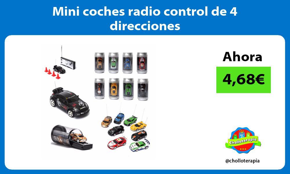 Mini coches radio control de 4 direcciones