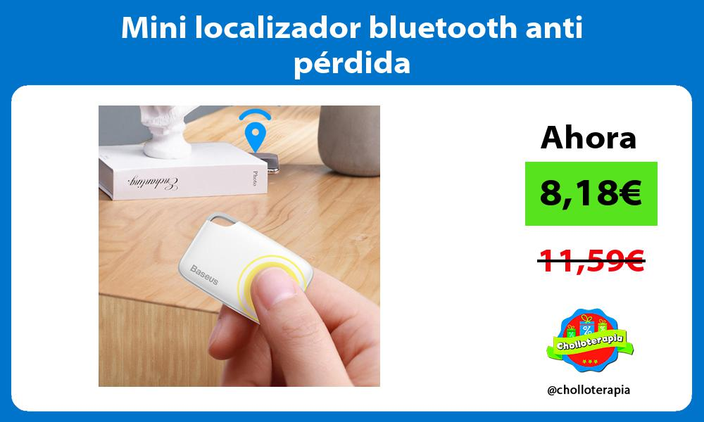 Mini localizador bluetooth anti pérdida