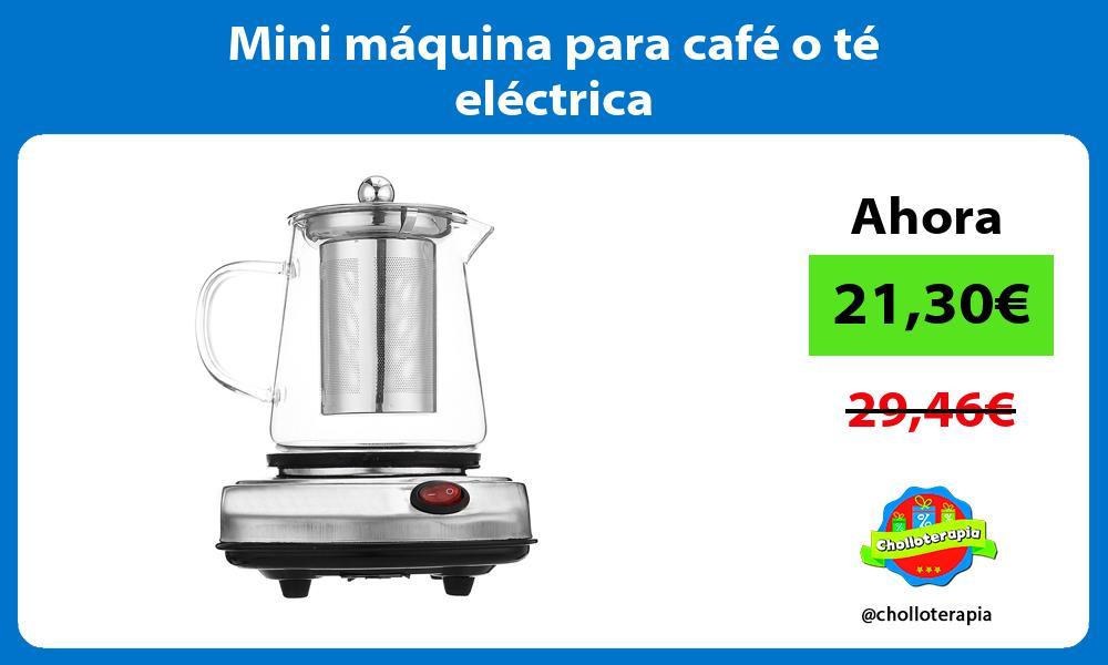 Mini máquina para café o té eléctrica