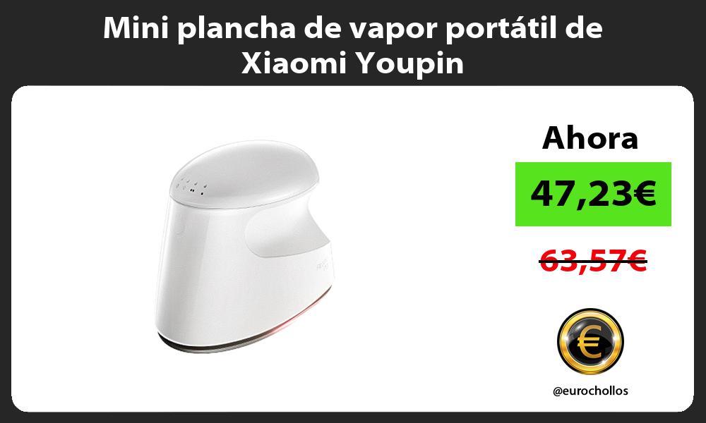 Mini plancha de vapor portátil de Xiaomi Youpin