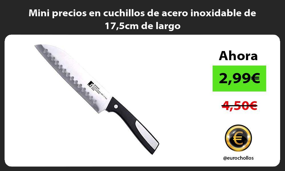 Mini precios en cuchillos de acero inoxidable de 175cm de largo
