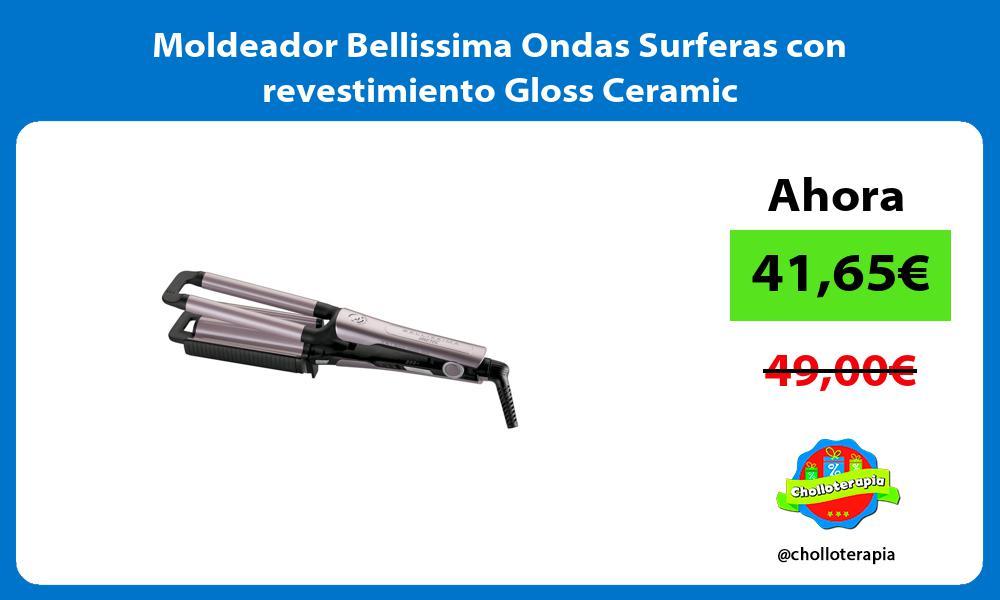 Moldeador Bellissima Ondas Surferas con revestimiento Gloss Ceramic