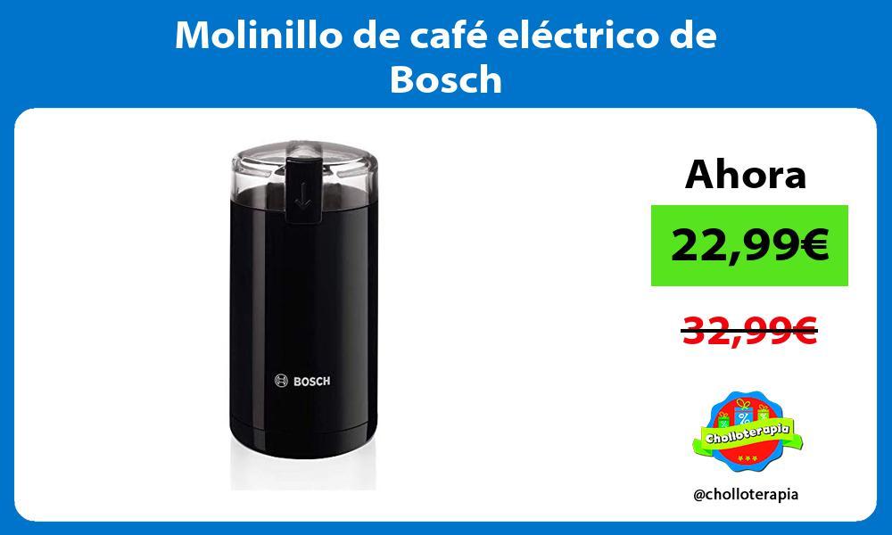 Molinillo de café eléctrico de Bosch