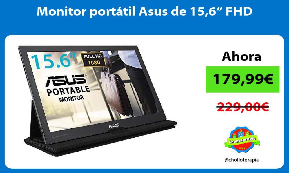 "Monitor portátil Asus de 156"" FHD"