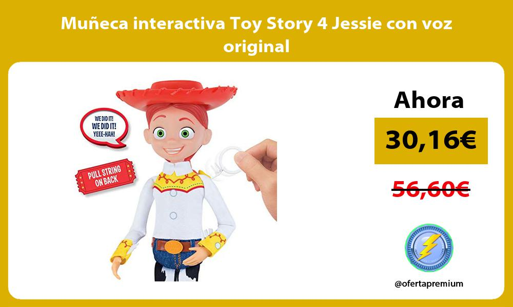 Muñeca interactiva Toy Story 4 Jessie con voz original