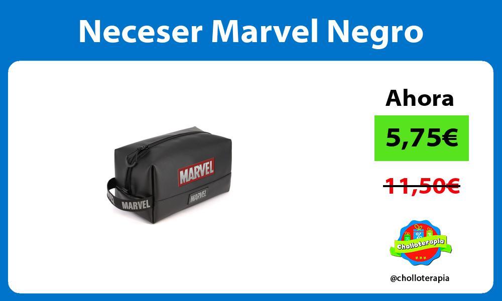 Neceser Marvel Negro