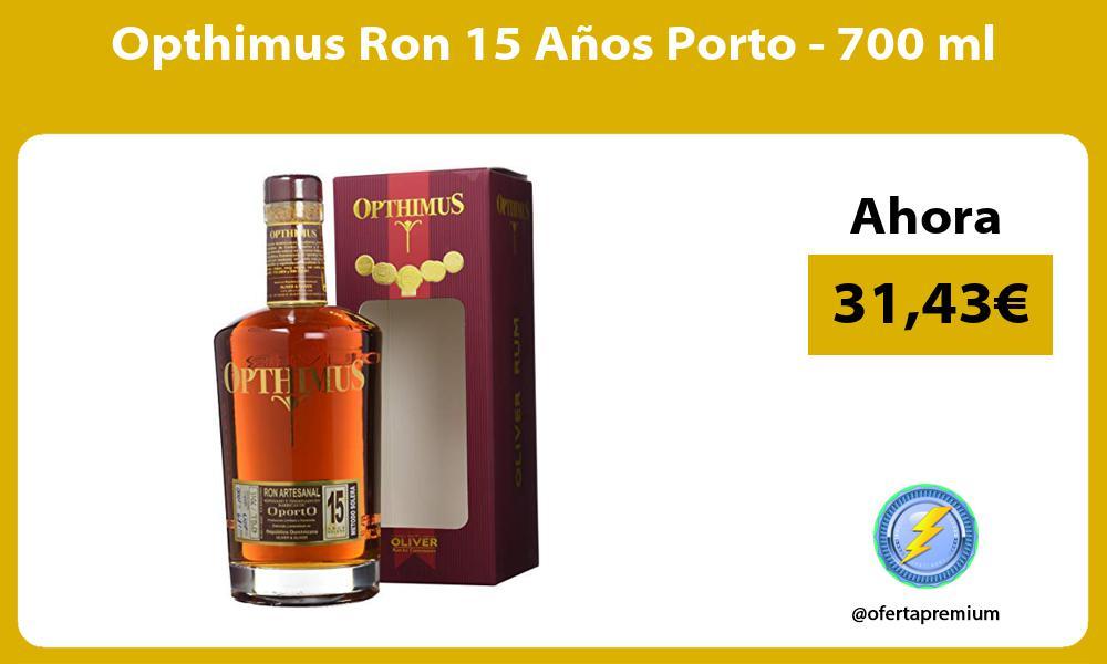 Opthimus Ron 15 Años Porto 700 ml