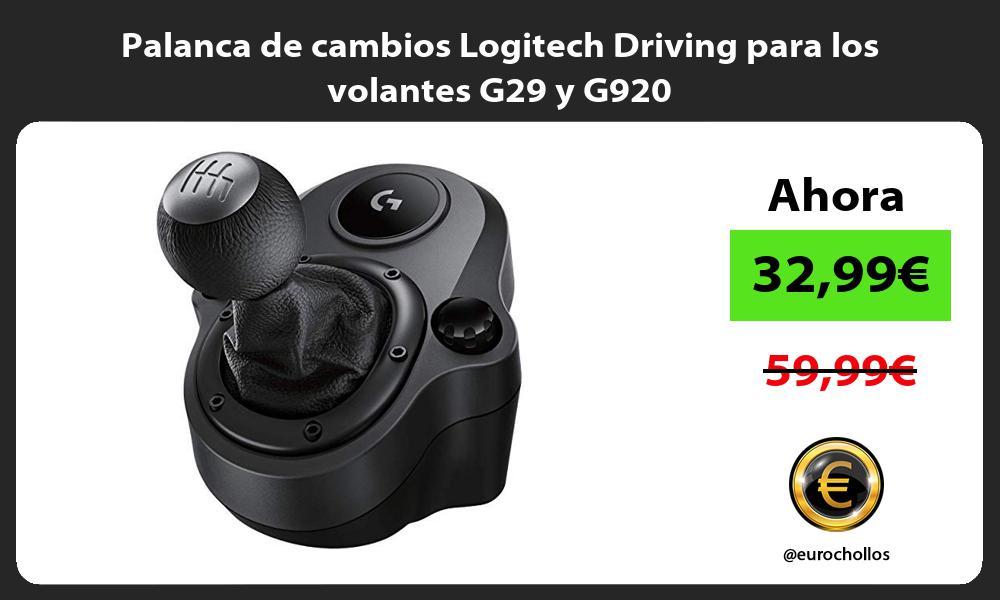 Palanca de cambios Logitech Driving para los volantes G29 y G920