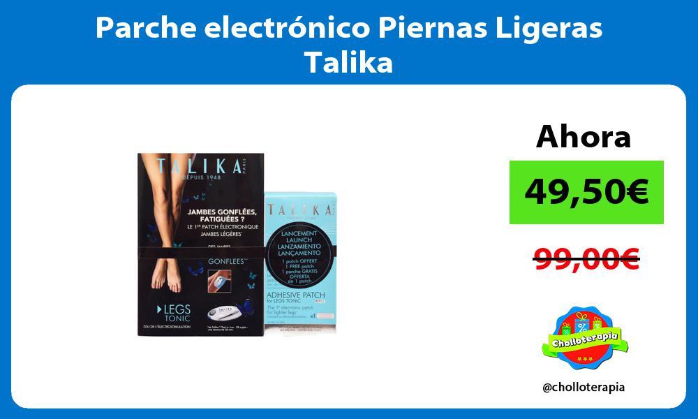 Parche electrónico Piernas Ligeras Talika