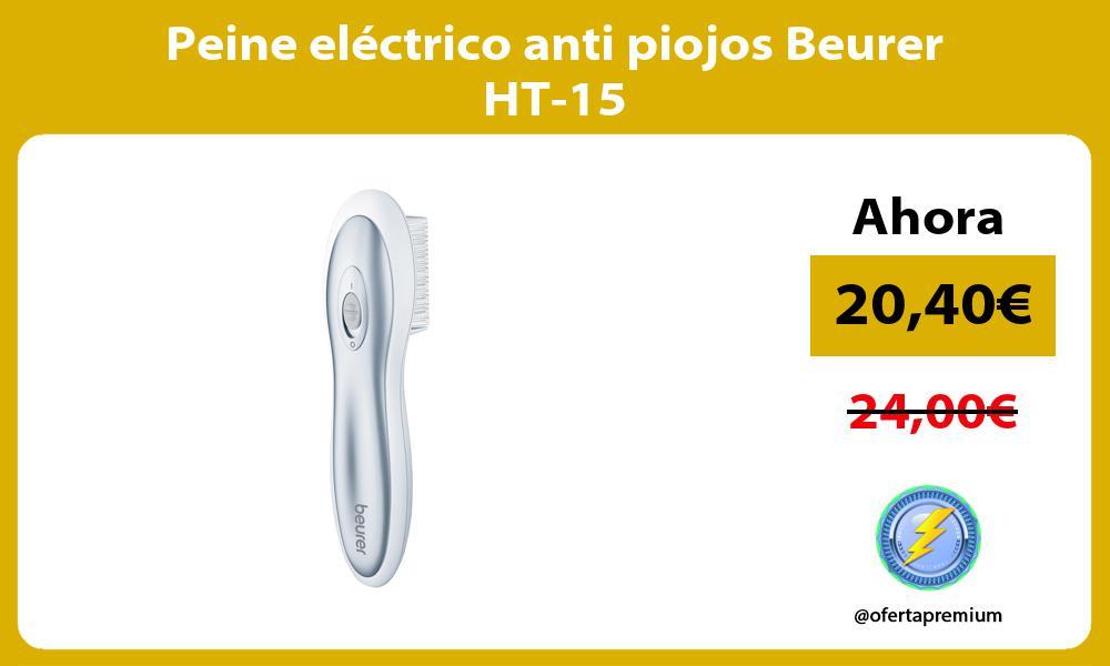 Peine eléctrico anti piojos Beurer HT 15