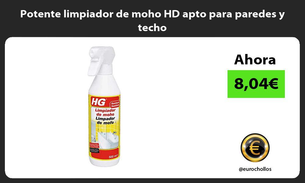 Potente limpiador de moho HD apto para paredes y techo