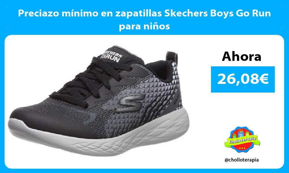 Preciazo mínimo en zapatillas Skechers Boys Go Run para niños