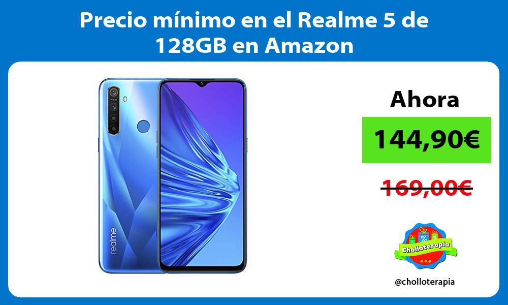 Precio mínimo en el Realme 5 de 128GB en Amazon