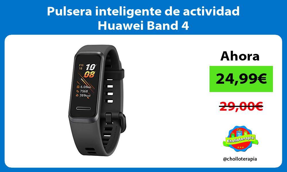 Pulsera inteligente de actividad Huawei Band 4