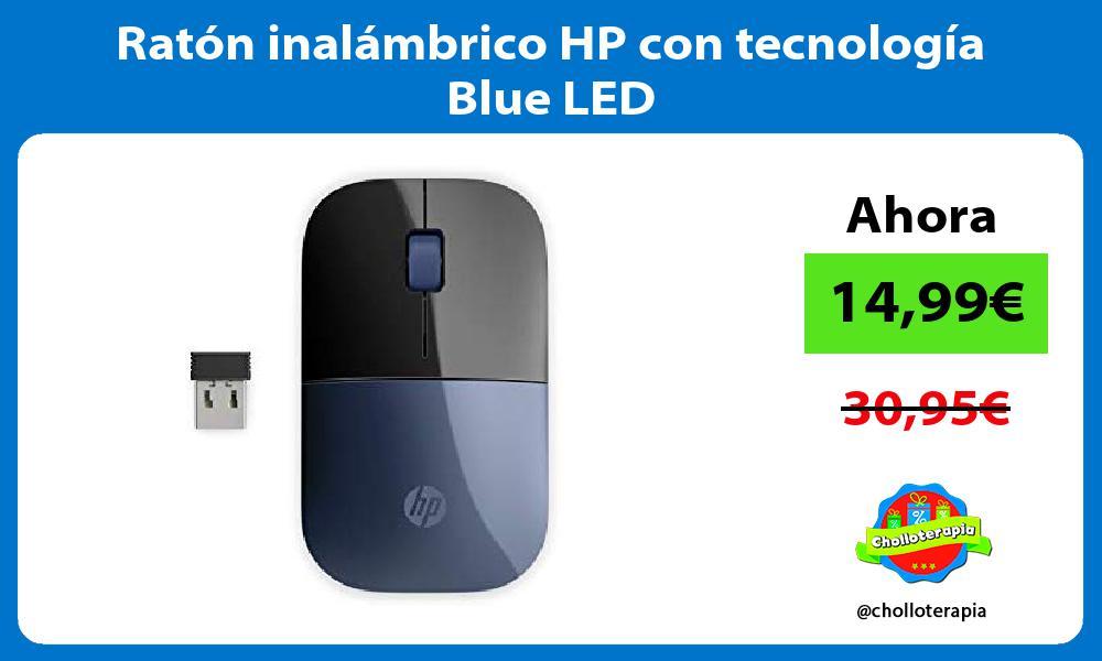 Ratón inalámbrico HP con tecnología Blue LED