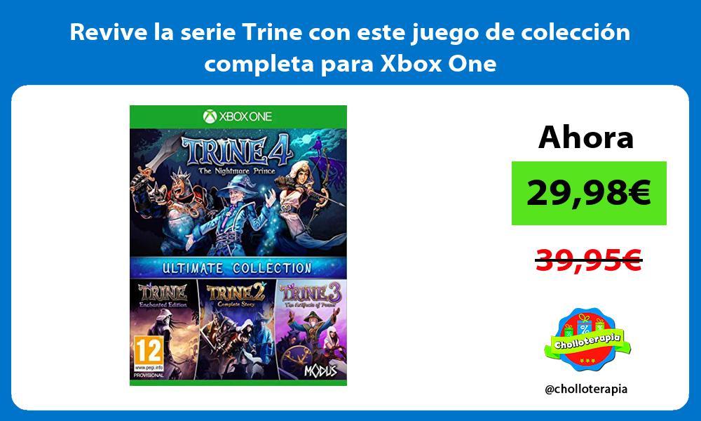 Revive la serie Trine con este juego de colección completa para Xbox One