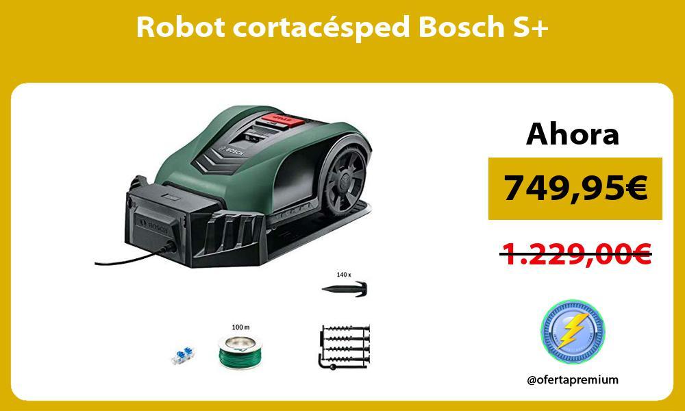 Robot cortacésped Bosch S